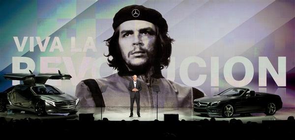 Mercedes Usa Che Guevara Como Garoto Propaganda E Causa Revolta De