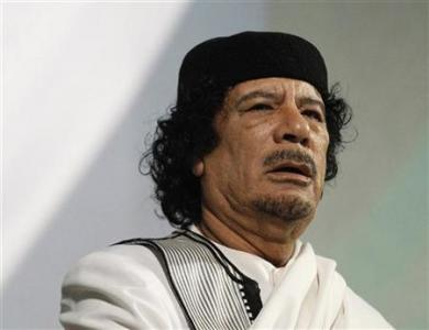 Khadafi mantinha harém de colegiais em fortaleza, diz livro