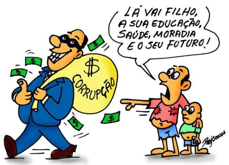 Resultado de imagem para fotos da corrupção no brasil